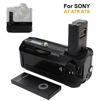 Vertical Battery Grip Suit For Sony A7 A7R A7S Camera + Wireless Controller【AU】