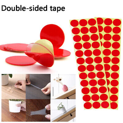 90Pcs 20mm Double-side Transparent Acrylic Super Sticky Foam Adhesive Tape