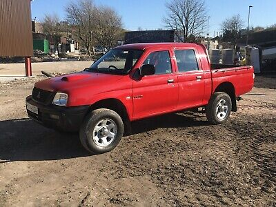 Mitsubishi L200 4 Work  2.5 Turbo Diesel Intercooler Double Cab