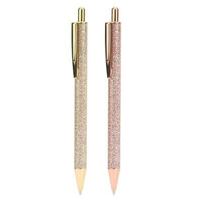 Student Stainless Steel Ballpoint Pen Office Ball Point Writing Pen Stationery