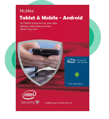 Download McAfee 2019 Android Tablet & Mobile Internet Security Antivirus 1 Year