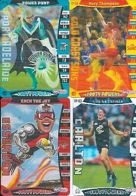 2019 afl teamcoach footy powers card you choose your card