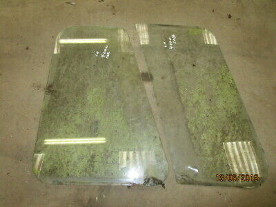 Ford 4000 Ford Cab Rear Side Glass (2 pieces) LH or RH in Good Condition