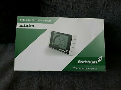 British Gas Electricity Monitor (Minim) new and unused in original packaging