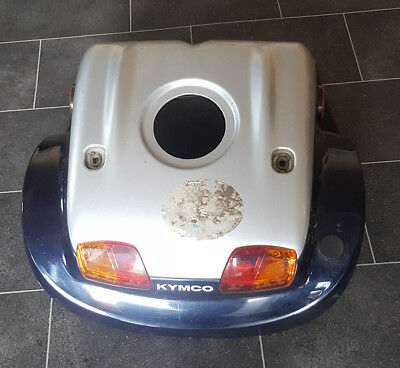 Kymco Strider Mobility Scooter Parts - Rear Plastic Body With Lights Complete