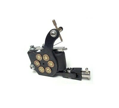 BLACK Bullet chamber PROFESSIONAL TATTOO MACHINE for power supply gun clip cord