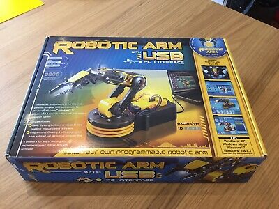 Robotic Arm with USB PC interface