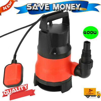 Farm Garden Pond 400W Dirty Water Electric Submersible Pump Sewage Drainage 220V