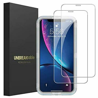 UNBREAKcable iPhone XR Screen Protector [2-Pack] - Double Defense Series Premium
