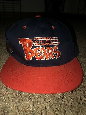 VINTAGE CHICAGO BEARS 80s 90s HAT NFL ANNCO SNAPBACK