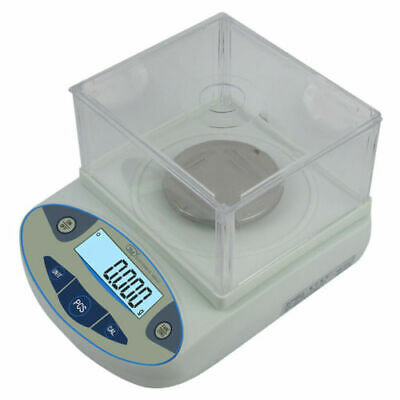 0.001g High-Precision Digital Balance Scale +Windshield for Lab Pharmacy Jewelry
