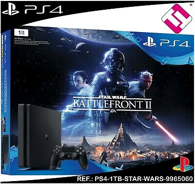 Console  Ps4 Star  Wars  Battlefront 2  1 Tb