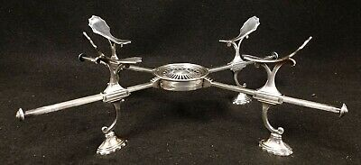 Rare Antique English Sterling Silver Dish Cross ROBERT HENNELL London 1794-5