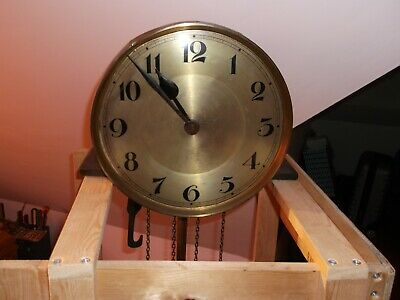 Antique Victorian Longcase Grandfather Clock, Movement Only,(No Case).