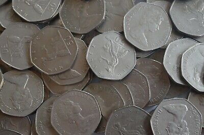 1969 to 1997 Old Large Britannia 50p Coin Elizabeth II Choice of Year