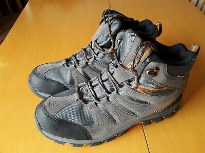 Mens Hiking Boot Walking Ankle Trail Trekking Trainers Sport Shoes Size 10