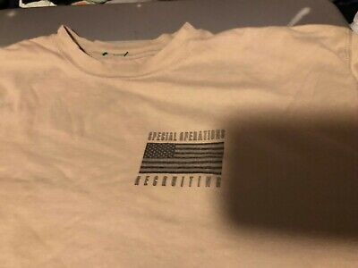 US Army SPECIAL FORCES Special Operations Recruiting T Shirt Large