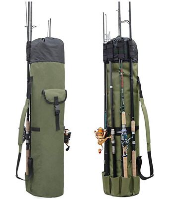 Fishing Bag Fishing Rod Reel Case Carrier Holder Fishing Pole Storage Bags
