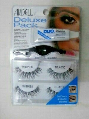 b5284c7e4e1 Ardell Deluxe Pack with Applicator, Includes 2 Pairs of Lashes + Adhesive
