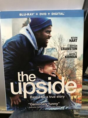 The Upside  (Blu-ray + DVD + Digital) 2019 w/ SLIP COVER ***FREE SHIPPING***