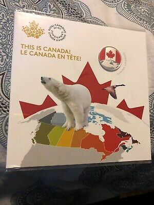 2019 Canada $5 .999 Silver Coin - This Is Canada! Glows Red