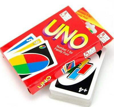 Uno Card Game 108 Playing Cards Indoor Family Children Friends Party Gift