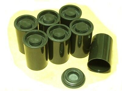 500 Black Fuji Film Canisters Cannisters Containers. BRAND NEW. SHIPPING INCL.