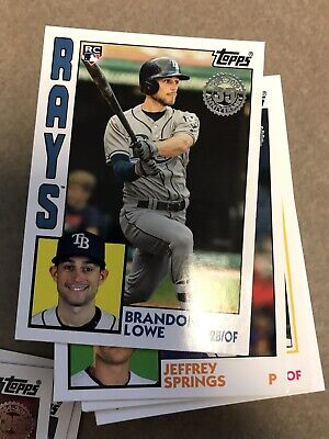 2019 Topps Series 2. 1984 edition insert. Pick your card.