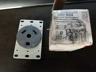 Cooper Wiring 1263 RV Travel Trailer Receptacle Outlet 30A 125V