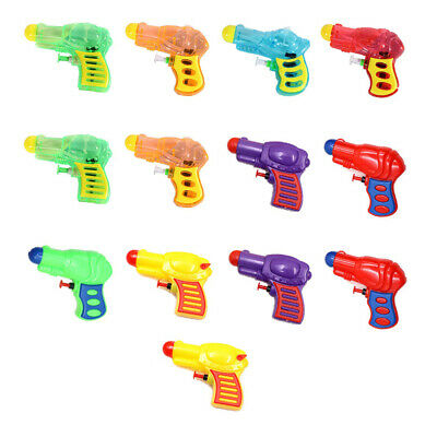 13pcs Water Blaster Creative Conlorful Bath Toy Water Shooters for Pool Swimming
