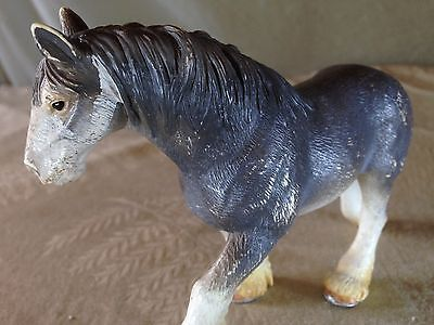 FREE SHIPPING: Lovely CLYDESDALE MARE! Schleich 13291 2004! Mighty Matriarch!