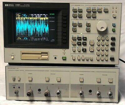 HP 4195A Network Spectrum Analyzer 10Hz to 500MHz Hewlett Packard W/ Measurement