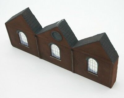 Detailed Model Railway Low Relief Factory For HO / OO