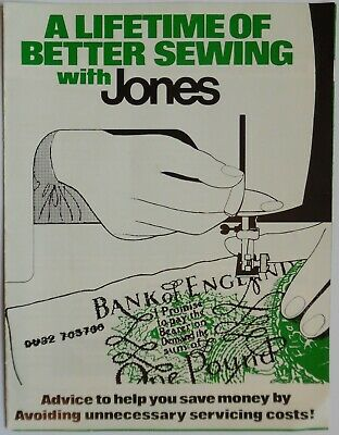 Original JONES BROTHER Guide to Better Sewing (Sewing Machine Trouble Shooter)