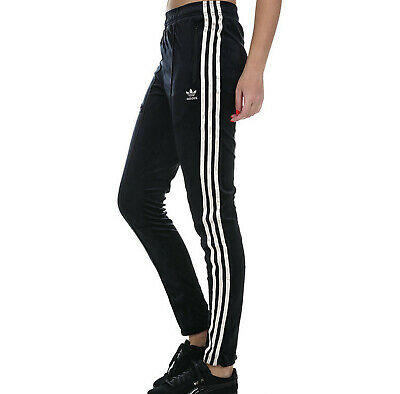 Girls Adidas Originals track pants Zebra joggers black age 9 - 10 kids LAST TWO