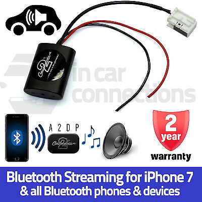 Audi A4 Bluetooth Streaming Aux Interface Adapter mp3 Musik IPHONE 5 6 7 Samsung