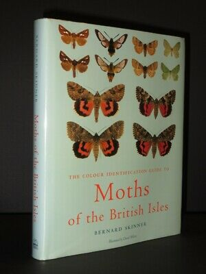 Colour Identification Guide to Moths of the British Isles SKINNER 1998 2nd Ed