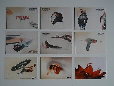 STAR TREK DISCOVERY Opening Sequence Artwork 9 Card Chase Set