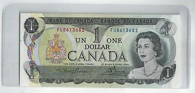 1973  One Dollar Bank Note From Canada