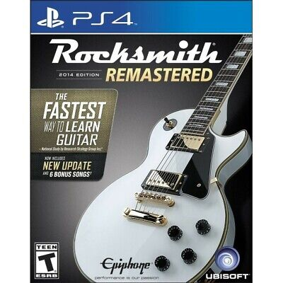 Rocksmith -- 2014 Edition (PS4) with Real Tone cable