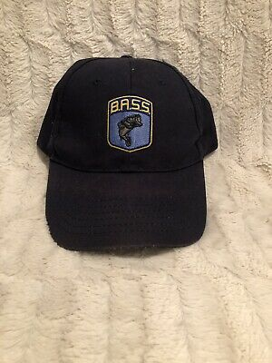 Official B.A.S.S. Bass Anglers Sportsman Society Hat Cap, Adjustable Strapback
