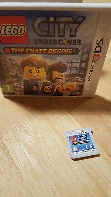 LEGO City Undercover: The Chase Begins (Nintendo 3DS) -