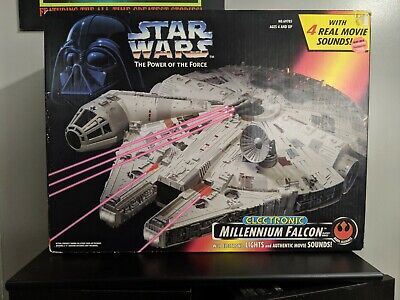 Kenner 1995 Star wars electronic millennium falcon SEALED power of the force