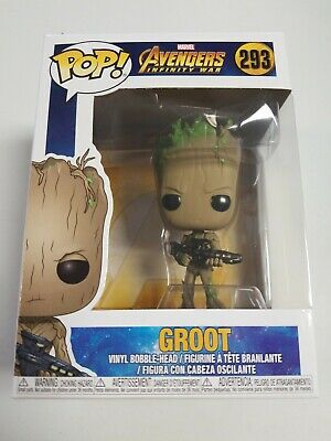Funko Pop! Marvel Avengers Infinity War Teen Groot Figurine #293