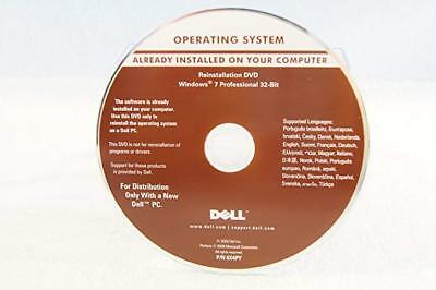 DVD Neuf Original Windows 7 pro 32 bit + Clé d'activation
