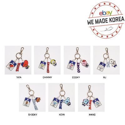 BTS BT21 Character Acrylic Keyring Pendant 2019 BTS 5TH MUSTER LIMITED EDITION
