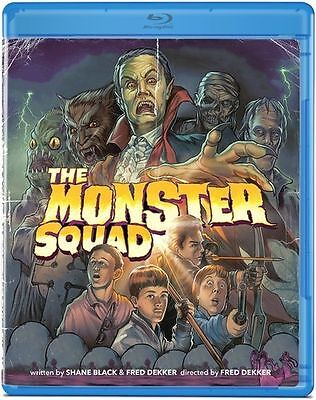 Monster Squad - Blu-Ray Region 1 OLIVE FILMS RARE OOP