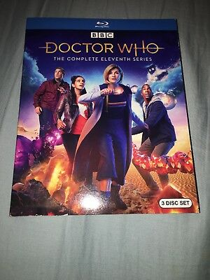 Doctor Who: Complete Season 11 (Blu Ray) w/ SLIP COVER ***FREE SHIPPING***