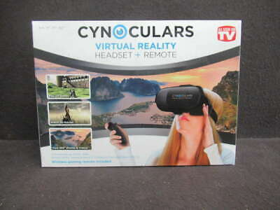 Cynoculars Virtual Reality Headset + Remote  Ty566