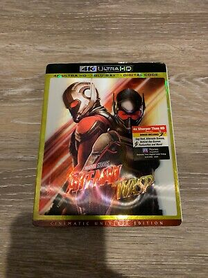 Ant-Man And The Wasp 4K Ultra Hd Blu-Ray Digital Rare Lenticular Slipcover New